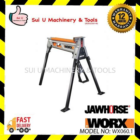 buy worx wx jawhorse portable clamping work support