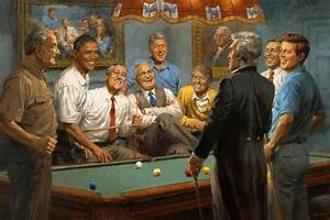 Nine Democrat Presidents Including Obama Playing a Game of ...