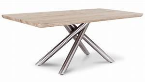 Pied De Table Basse Metal : merveilleux tables de salon conforama 13 table basse plateau bois pied metal phaichi cgrio ~ Teatrodelosmanantiales.com Idées de Décoration