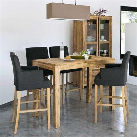 table haute cuisine bois les 25 meilleures idées concernant table haute bar sur