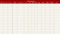 Vendor Contact List Template | Contact list, List template ...