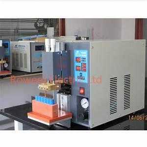 Microcomputer Dual Pulse Pneumatic Battery Spot Welder For Battery Pack Pr50 High Quality 8f