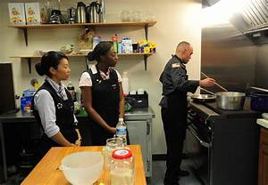 Airmen and Soldiers bring heat to the kitchen > Joint Base ...