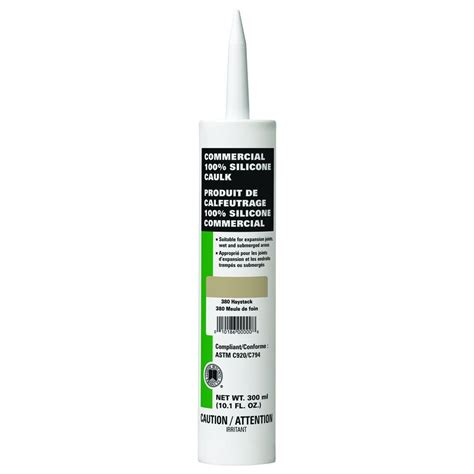 colored silicone caulk custom building products commercial 380 haystack 10 1 oz