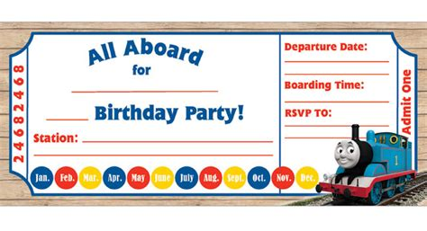 thomas birthday invitations kids birthday parties pbs
