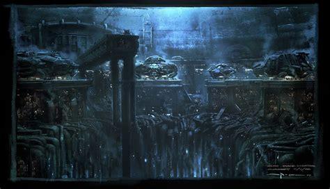 Arkham City Artwork by Sci Fi Movie Concept Artist George Hull George Hull