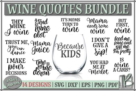 wine svg bundle wine glass quote svg files sofontsy