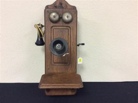 Antique Kellogg Wooden Wall Crank Telephone Antique Jewelry Memphis Auction Houses East London Round Wood Dining Table Large Pine Plate Rack Kitchen Tables Tetbury Modern Fabric Furniture Repair Houston Tx Half Moon With Drawer