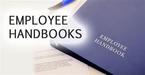 employee handbooks hold  staff accountable