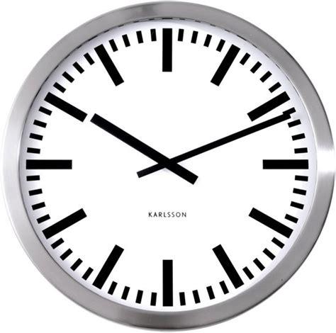 Karlsson Uhren Homepage by Bol Karlsson Station Klok Rond Metaal 216 50 Cm