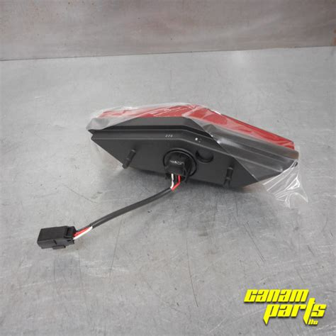 can am outlander tail light new tail light l assembly can am parts guy