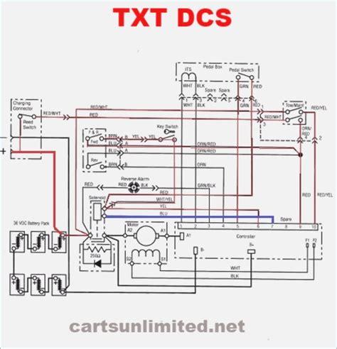 ezgo txt wiring diagram bioart me