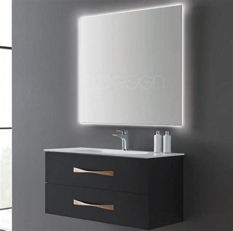 meuble sous vasque suspendu belem 100cm 2 tiroirs noir absolu o design r 233 f caisbelem1000nm