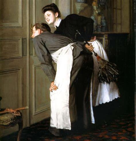la femme de chambre argonienne serviteurs en 1870