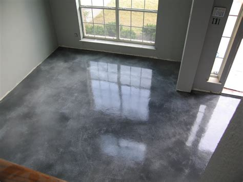 concrete kitchen floor cost stained concrete floors cost how to stain diy 5670