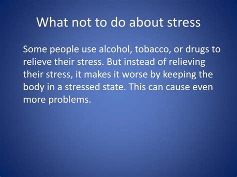 effects stress    body powerpoint