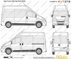 Dimension Opel Vivaro : opel vivaro lwb high roof vector drawing ~ Gottalentnigeria.com Avis de Voitures