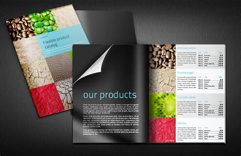 indesign catalog modular and indesign product catalogue template with space for images description and