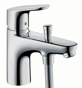 Robinet Thermostatique Bain Douche : mitigeur bain douche monotrou focus e2 hansgrohe ~ Melissatoandfro.com Idées de Décoration