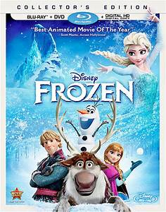 Walt Disney Blu-Ray Covers - Frozen (Collector's Edition ...