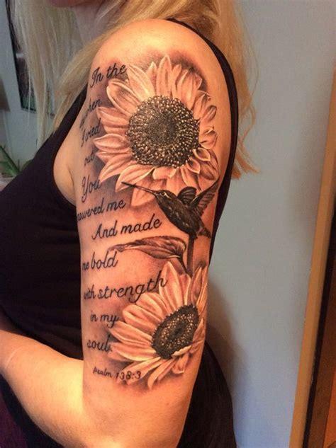 amazing sunflower tattoo ideas tattoos tattoos