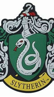 FREE SHIPPING - Harry Potter Slytherin Crest Magnet