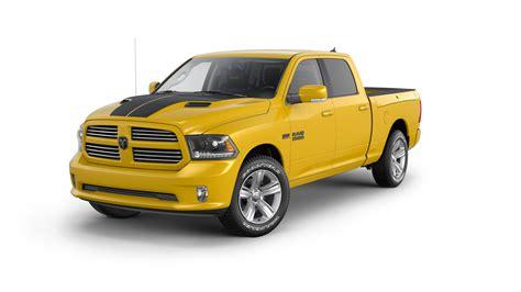 2016 Ram 1500 Stinger Yellow Sport Is the Pickup Truck