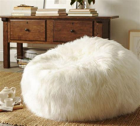 large faux sheepskin rug faux fur bean bag chairs