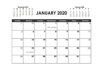 printable  word calendar templates calendarlabs
