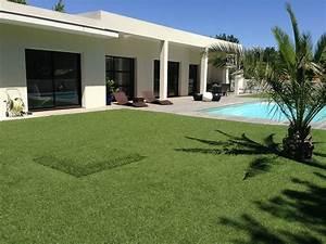 Aspirateur Pour Gazon Synthétique : comment am nager son jardin avec du gazon synth tique i jardindeco blogjardindeco blog ~ Farleysfitness.com Idées de Décoration