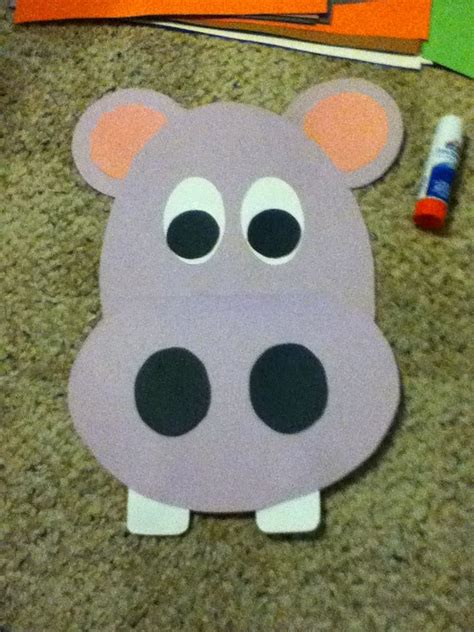 the 25 best hippo crafts ideas on zoo crafts 935   8a5efff3a6449f3907d71e5d4f895396 jungle crafts preschool jungle