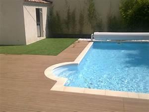 projet de pose d39une terrasse en composite avec With amenagement jardin autour piscine