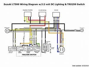 Wiring Harnes For Suzuki 250
