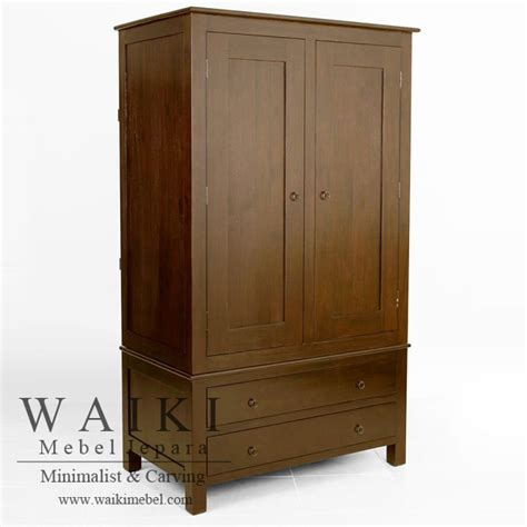 lemari pakaian 2 pintu kayu jati lemari pakaian pekengan lemari pakaian kayu jati grade a