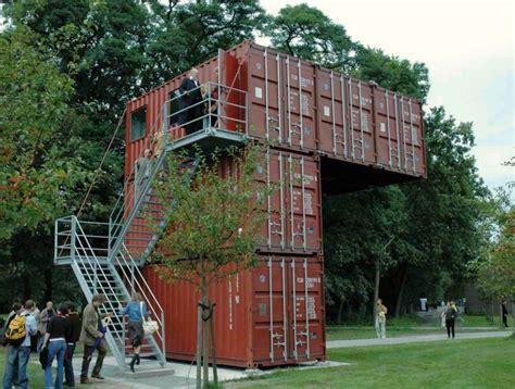 container architektur hoorn bridge inhabitat green