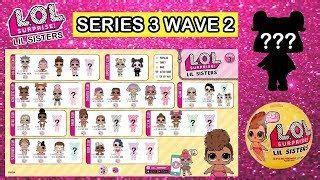 image result  lol surprise series  checklist dolls
