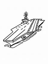 Carrier Aircraft Coloring Printable sketch template