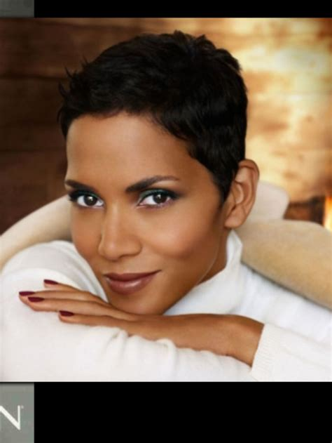 coiffe style halle berry images  pinterest