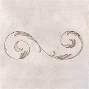 palazzo scroll ceiling stencil royal design studio stencils With scroll letter stencils