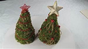 Mit Moos Basteln : dekoration f r weihnachten tannenbaum christmas tree aus moos within basteln naturmaterialien ~ Whattoseeinmadrid.com Haus und Dekorationen