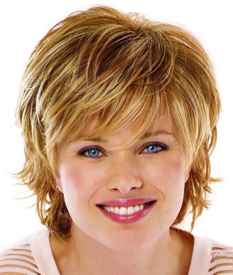 short hairstyles  fine hair   faces