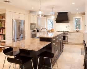 split level kitchen island bi level island kitchens