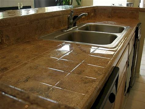 Tile Countertop by Tile Kitchen Countertops Tile Kitchen Countertops Design