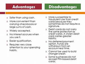 Advantages and disadvantages of credit cards youtube business credit cards advantages and disadvantages gallery card design and card template reheart Image collections