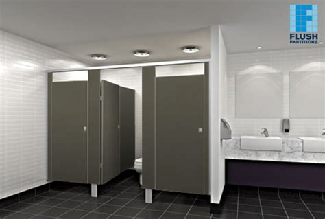 commercial washroom cubicles flush partitions australia