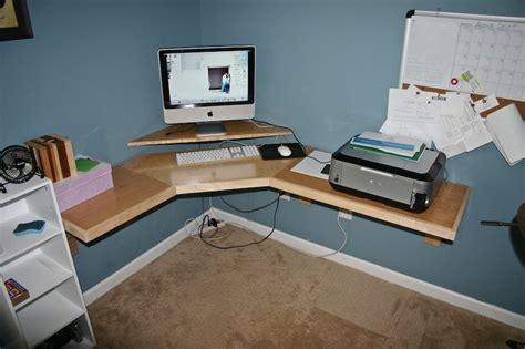 build   corner desk  woodworking