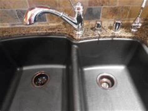 how to clean black granite composite kitchen sink 1000 ideas about black sink on white 9705