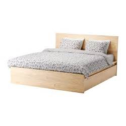 Malm High Bed Frame by Malm High Bed Frame 4 Storage Boxes Ikea