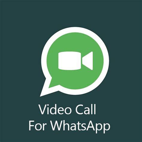 whatsapp ofrece videollamadas