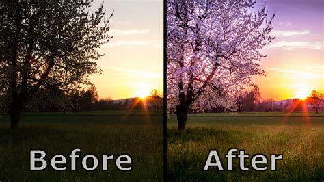 landscape photography editing  post processing